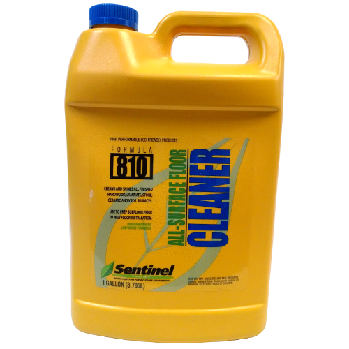 Sentinel 810 All Surface Floor Cleaner Gallon