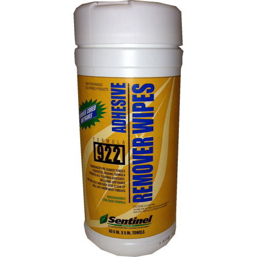 Sentinel 922 Adhesive Remover Wipes