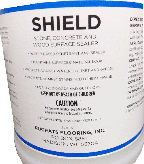 Shield concrete surface sealer