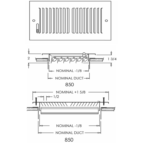 Shoemaker 850 - Submittal Drawings