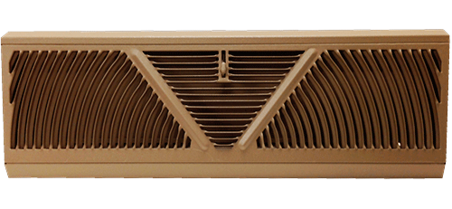 Baseboard Register Vents Metal Air Diffuser