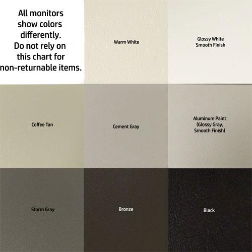 color options for Designer color Shoemaker 850