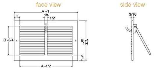 Sidewall Technical Drawing