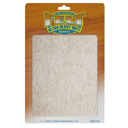 Slipstick Heavy Duty Felt Pads - 4.5 Inches x 6 Inches
