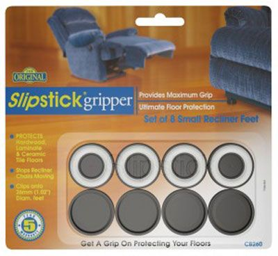 Slipstick Small Recliner Feet Gripper