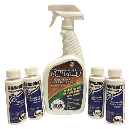 Basic Coatings Squeaky Floor Cleaner Refill Bundle - Squeaky Concentrate