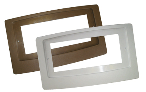 Suncourt Adaptor Plate for Flush Fit Register Boosters