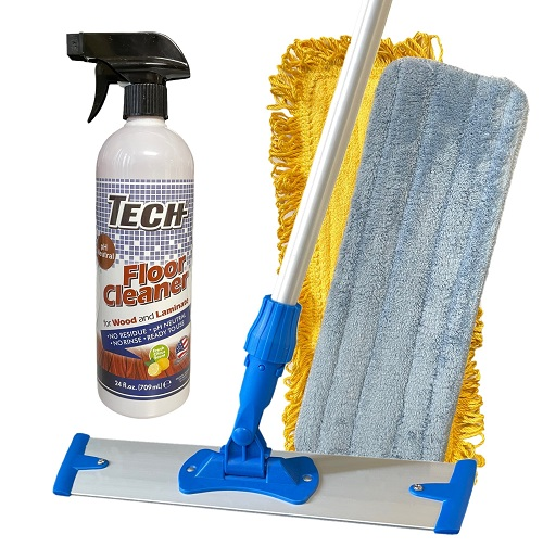 Tech Wood and Laminate Floor Cleaning Kit - Tech floor cleaner