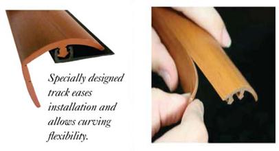 Cal Flor Total Trim Flexible Transition Strip 7 Profiles