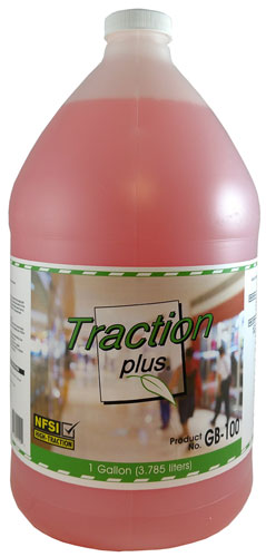 Traction Plus Green Building Cleaner and Maintainer