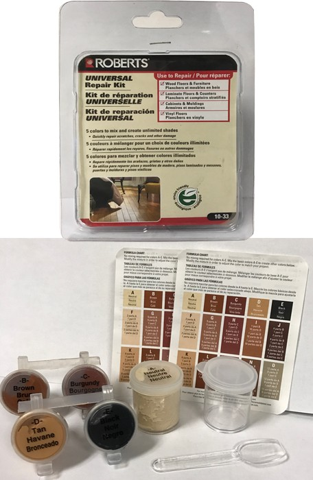 Roberts Universal Repair Kit - Wood and Laminate Floor Repair Kit