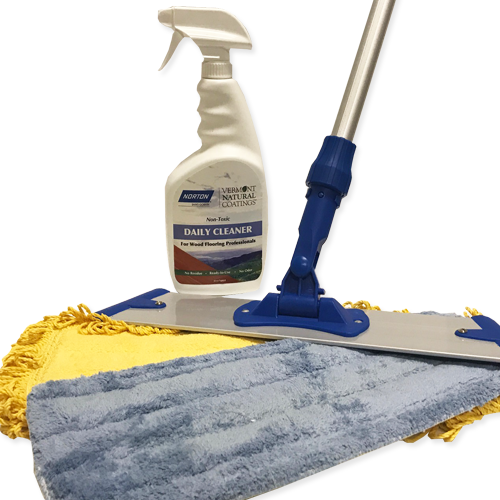 Vermont Natural Coatings Wood Floor Cleaning Kit