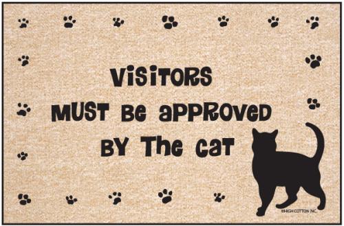 Cat Doormat - Cat Welcome Mat Funny