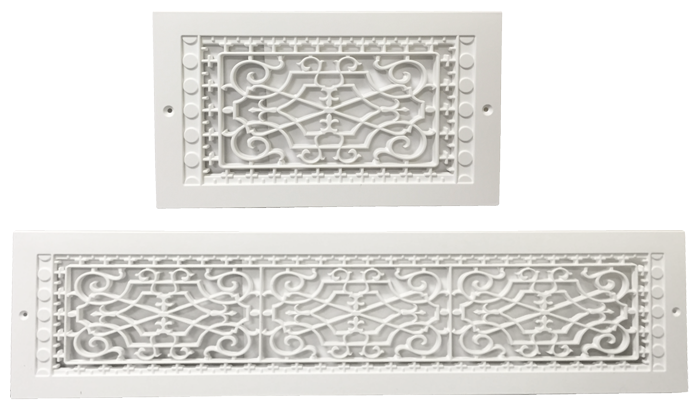 Plastic Return Air Grille Decorative Wall