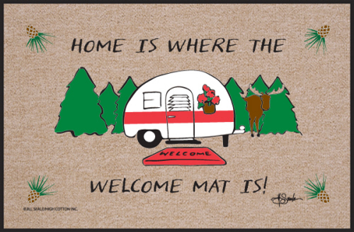 Funny Door Mat - Camper Welcome Mats