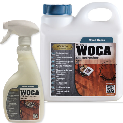 Woca Oil Refresher - Woca Oil Refresh for natural oiled floors