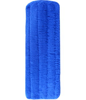 5 x 14 Blue Replacement Microfiber Mop Cover