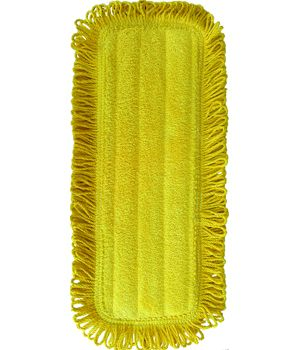 5 x 14 Yellow Microfiber Dust Pad