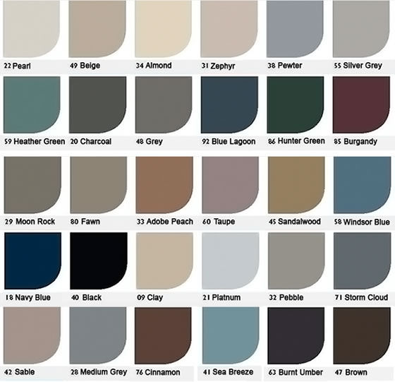 Johnsonite Color Palette A