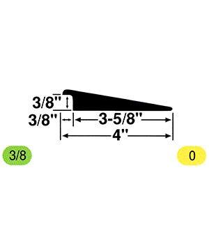 Johnsonite CTA-XX-PL Transition Adaptor