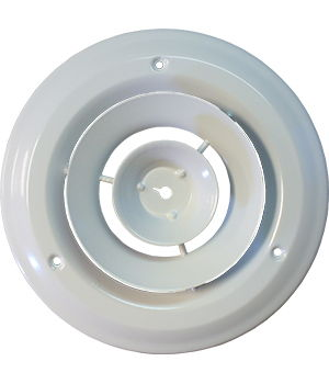 6 Inch Round Sidewall / Ceiling Grille