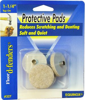 Tap-On Protective Felt Pads