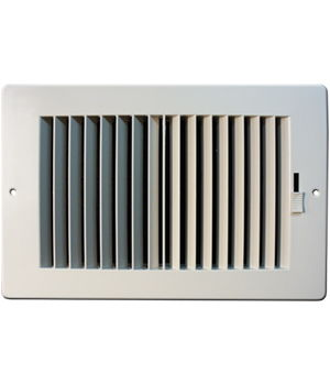 Hart & Cooley RZ682 White ABS Sidewall / Ceiling Register