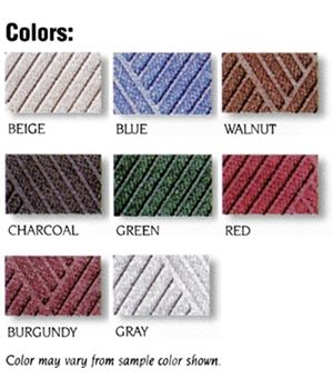 Ridge-Way Commercial Entrance Mat - Color Choices