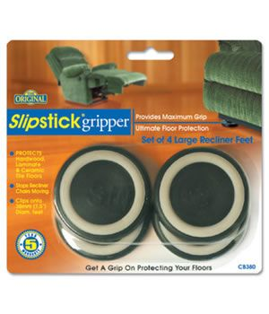 Slipstick Large Recliner Feet Grippers