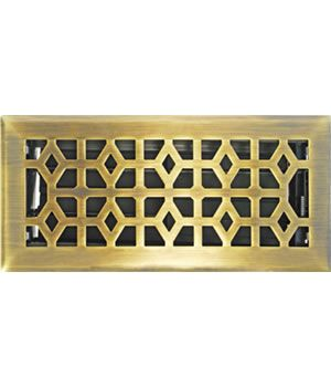 Decorative Register Metal Vent Accord