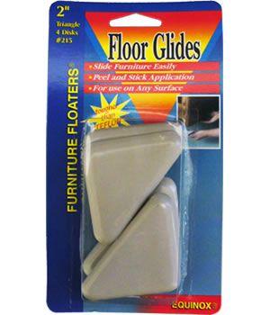 2 Inch Triangular Floor Glides
