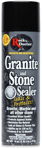 Granite and Stone Sealer by Rock Doctor