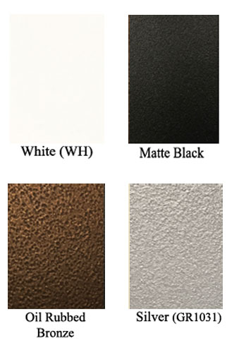 Steel Crest Tuscan Gravity Baseboard Size Options