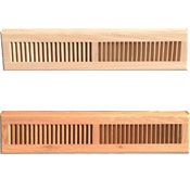 Wood Baseboard Register-24 Inches