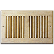 Unfinished Wood Wall Grilles