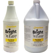 Bright N Easy No Rinse Cleaner Vinyl Floor Maintenance