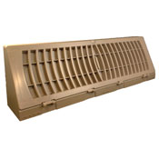 Plastic Baseboard Register