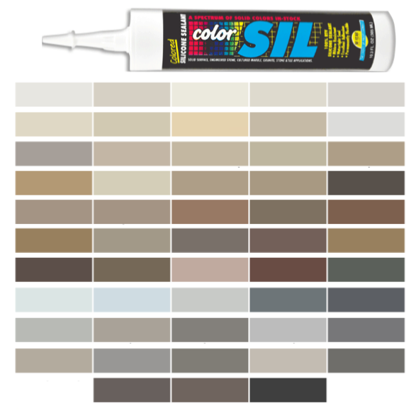 Custom Building Products Colored Silicone Caulk