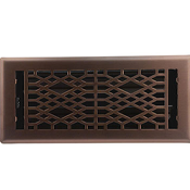 Cathedral Light Oil Rubbed Bronze Floor Register
