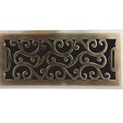 Charleston Antique Brass Floor Register