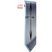 "Johnsonite Cove Base 2.5"" High x .125"" Gauge x 120' Coil"