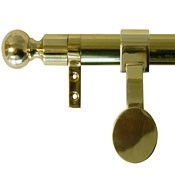 Zoroufy Grand Regency Wall Hanger Polished Brass - Ball Finial