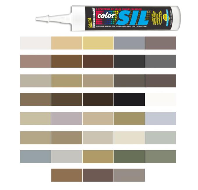 Hydroment Colored Silicone Caulk