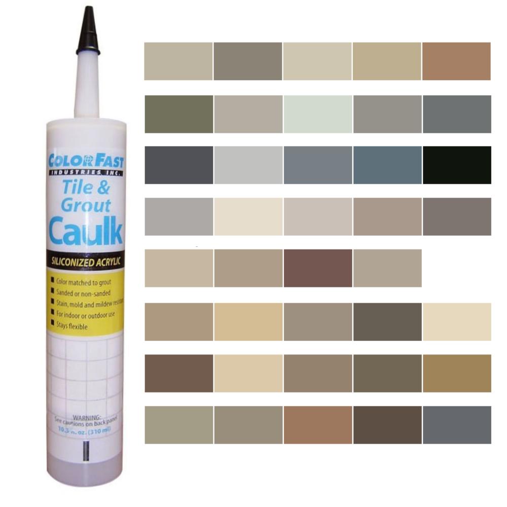 Latex Colored Caulk -  Laticrete Caulk Color Line