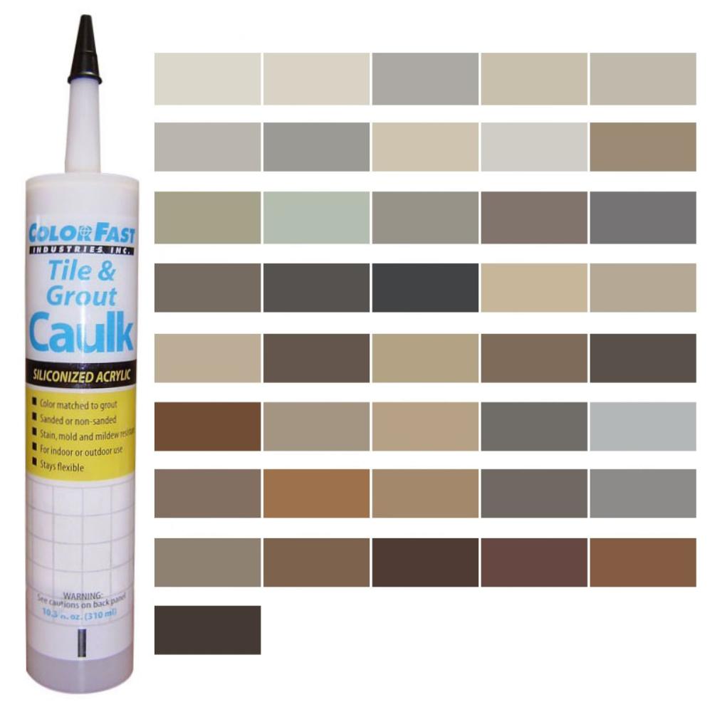 Latex Colored Caulk - Hydroment Caulk Color Line