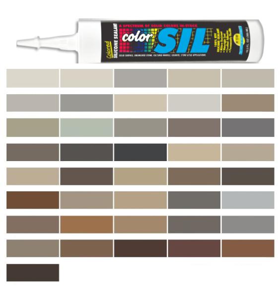 Mapei Colored Silicone Caulk