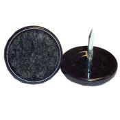Nail-On Carpet Base Hard Shell Glide