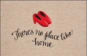 No Place Like Home Welcome Mat