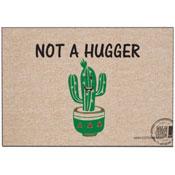 Funny Doormat - Not a Hugger