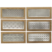 Metal Flush Mount Floor Grills